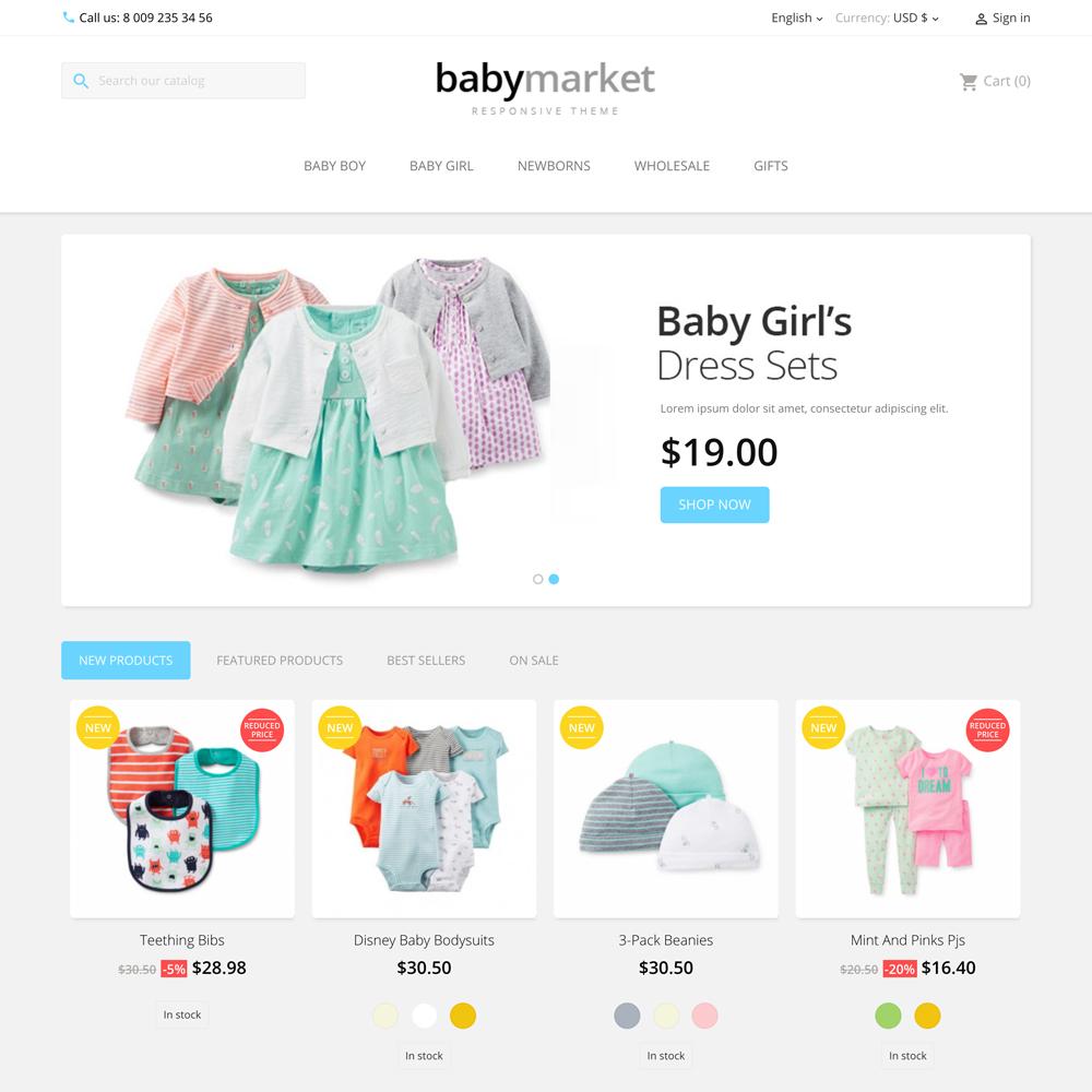 babymarket prestashop 1.7 theme