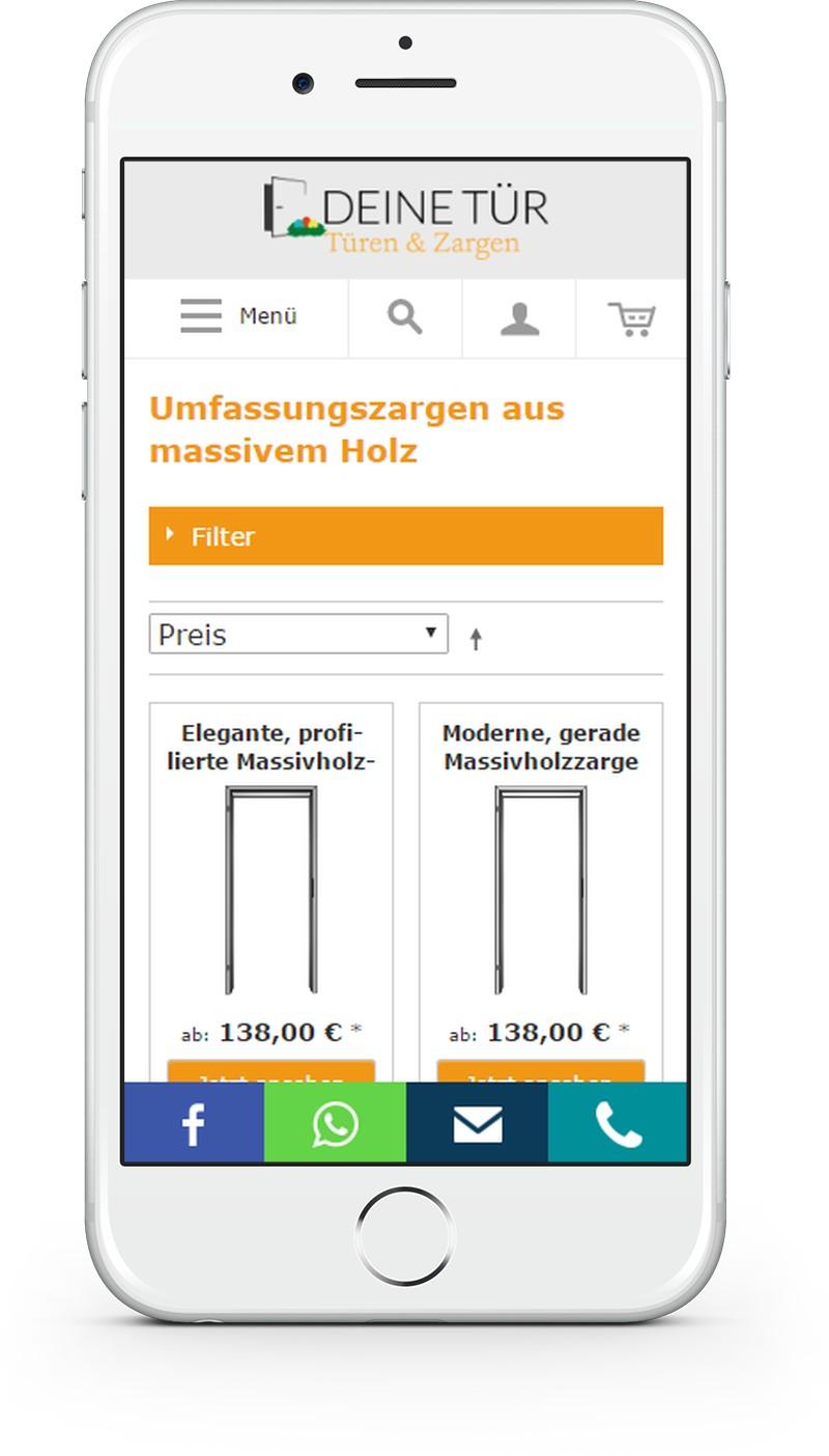 Our Works: DeinerTuer.de