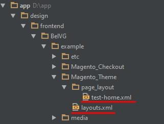 2 custom homepage magento 2