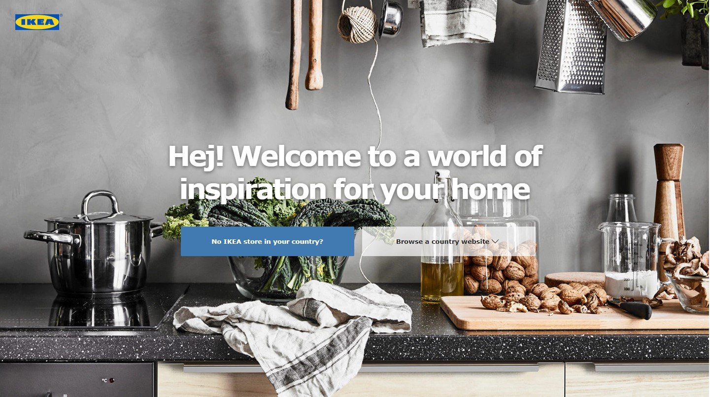 The best website navigation gimmicks in ecommerce (P.1)