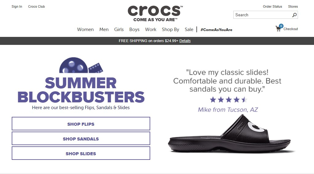 The best website navigation gimmicks in ecommerce (P.1)5