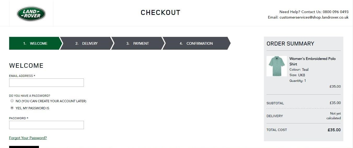 Inspirational checkouts of the web stores running on Magento21