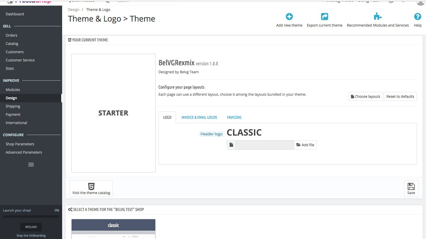 Prestashop 1.7 Setup. Theme Configuration and Customization based on Starter Theme (Pt.1)_3_1