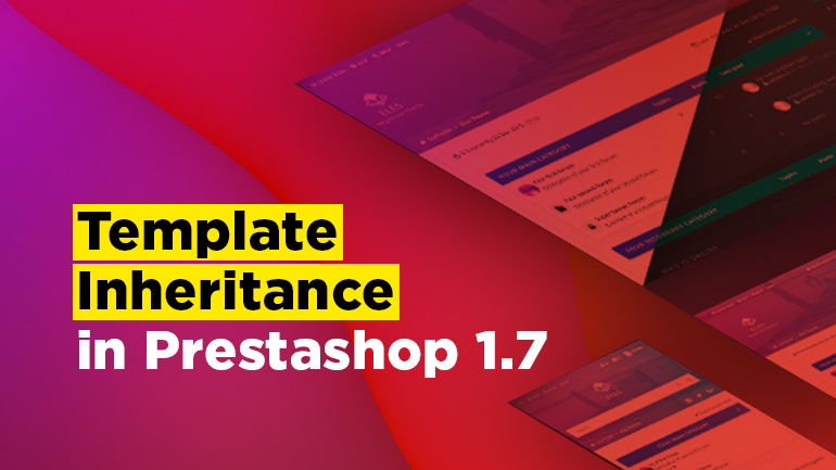 Template Inheritance in Prestashop 1.7