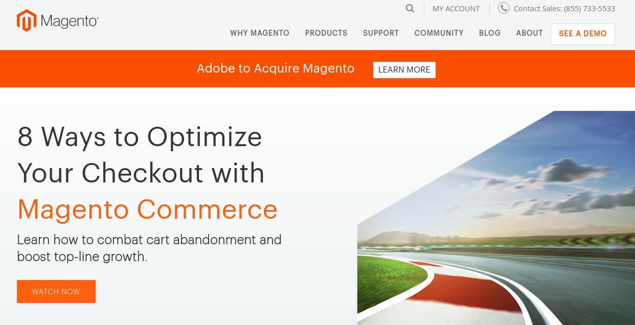 Magento_homepage