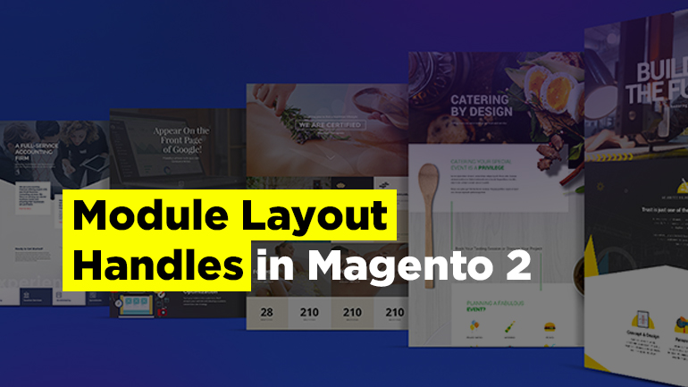 Module Layout Handles in Magento 2
