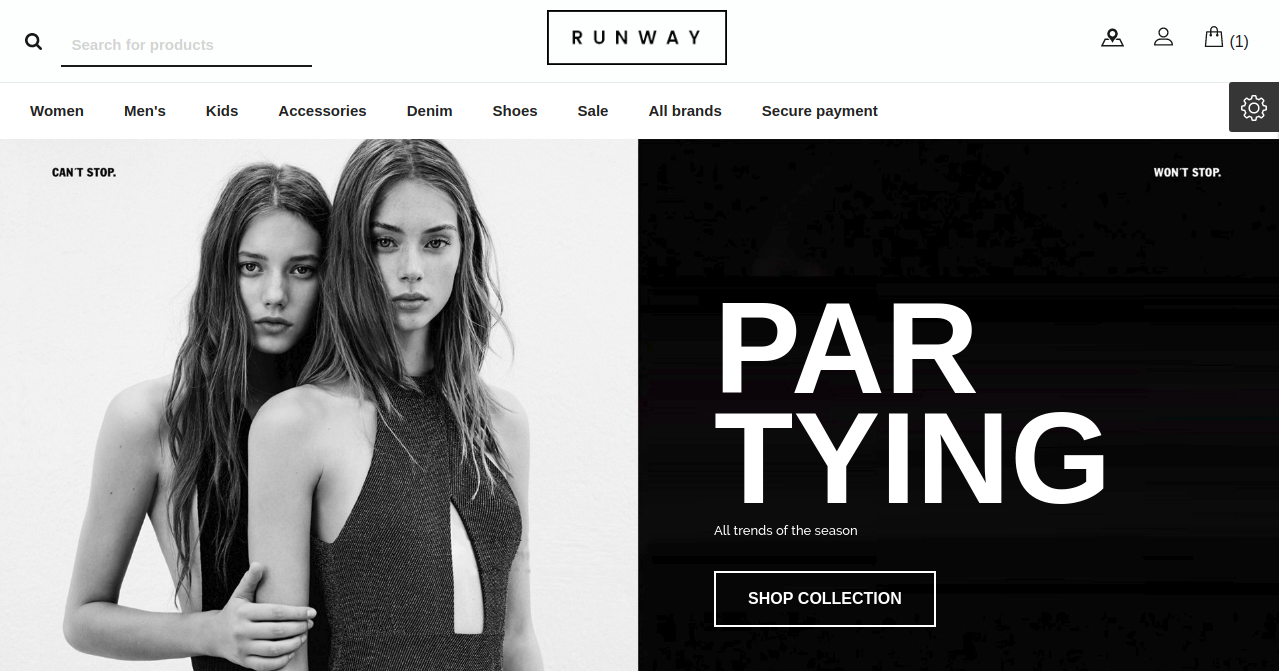 Runway_fashion_PrestaShop_theme