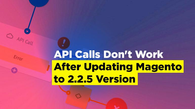 API issue after updating Magento to 2 2 5 version | BelVG Blog