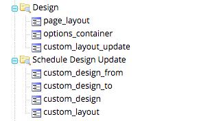Design and Schedule Design Update