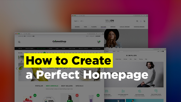 How to Create a Perfect Homepage