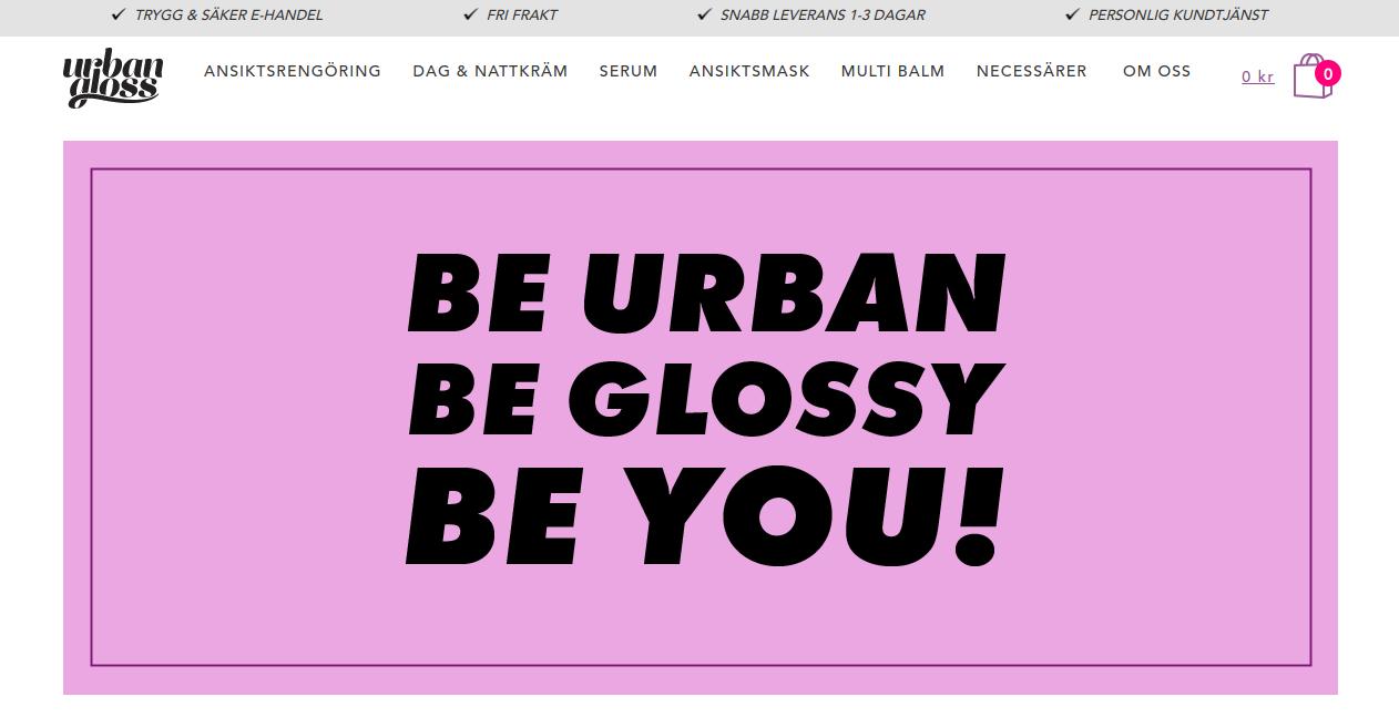 Urbangloss_homepage
