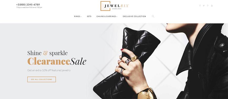 Jewelrix Template