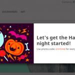 Halloween promo popup 10 150x150