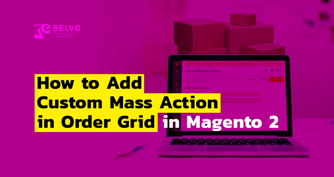 Adding mass action in order grid in Magento 2 | BelVG Blog