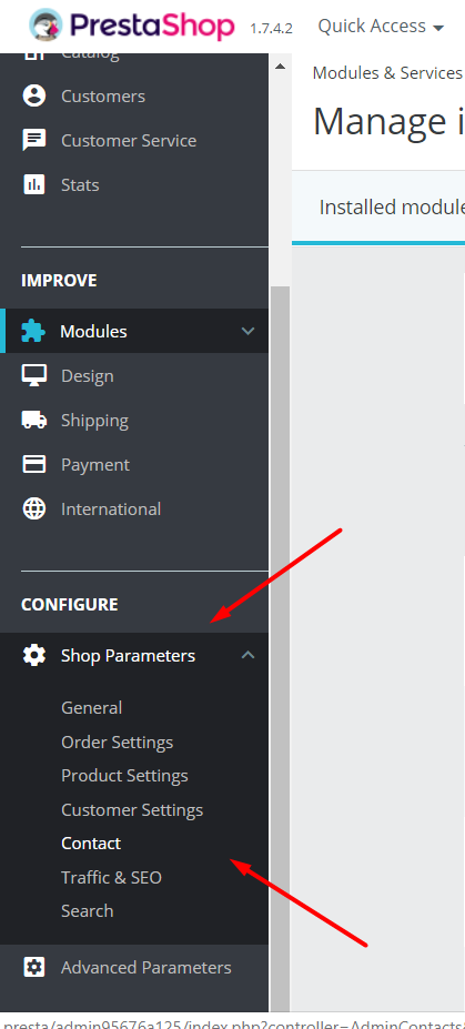 How to Change the Shop Title in PrestaShop 1.7