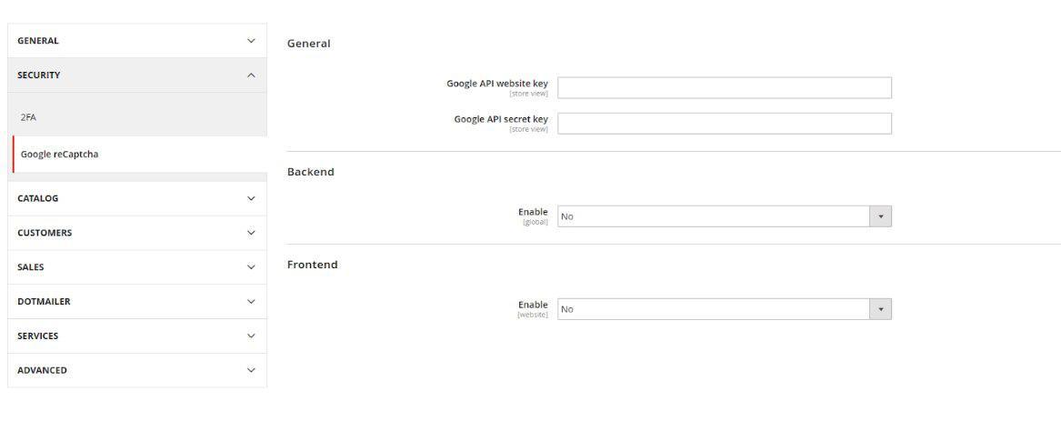 Magento 2 3 0 google recaptcha support feature