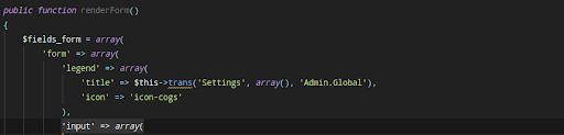 configure prestashop 1.7.