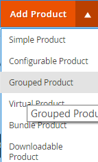 grouped product magento 2