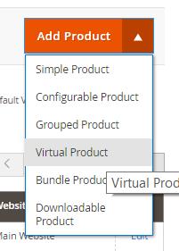 virtual product magento 2