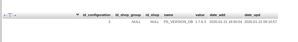 How to upgrade prestashop 1.7 click