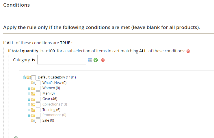 conditions category