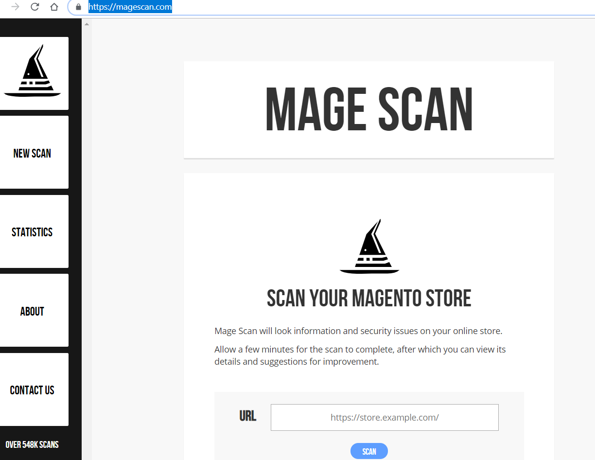 mage scan step 1