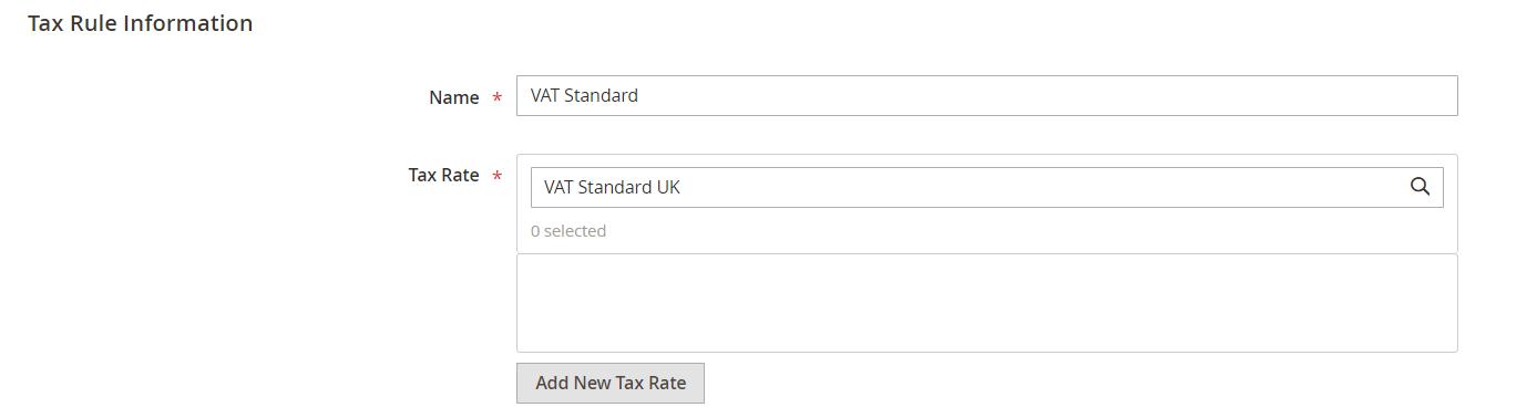 vat standard uk info