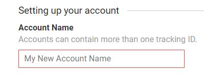 Account name