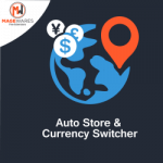 auto store and currency switcher
