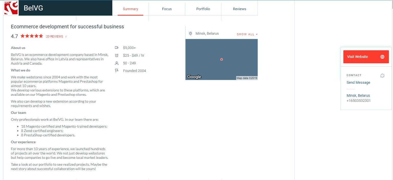 belvg clutch profile