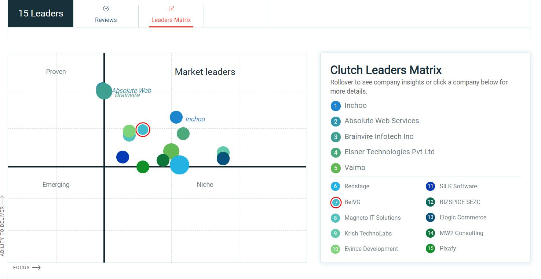 leader matrix