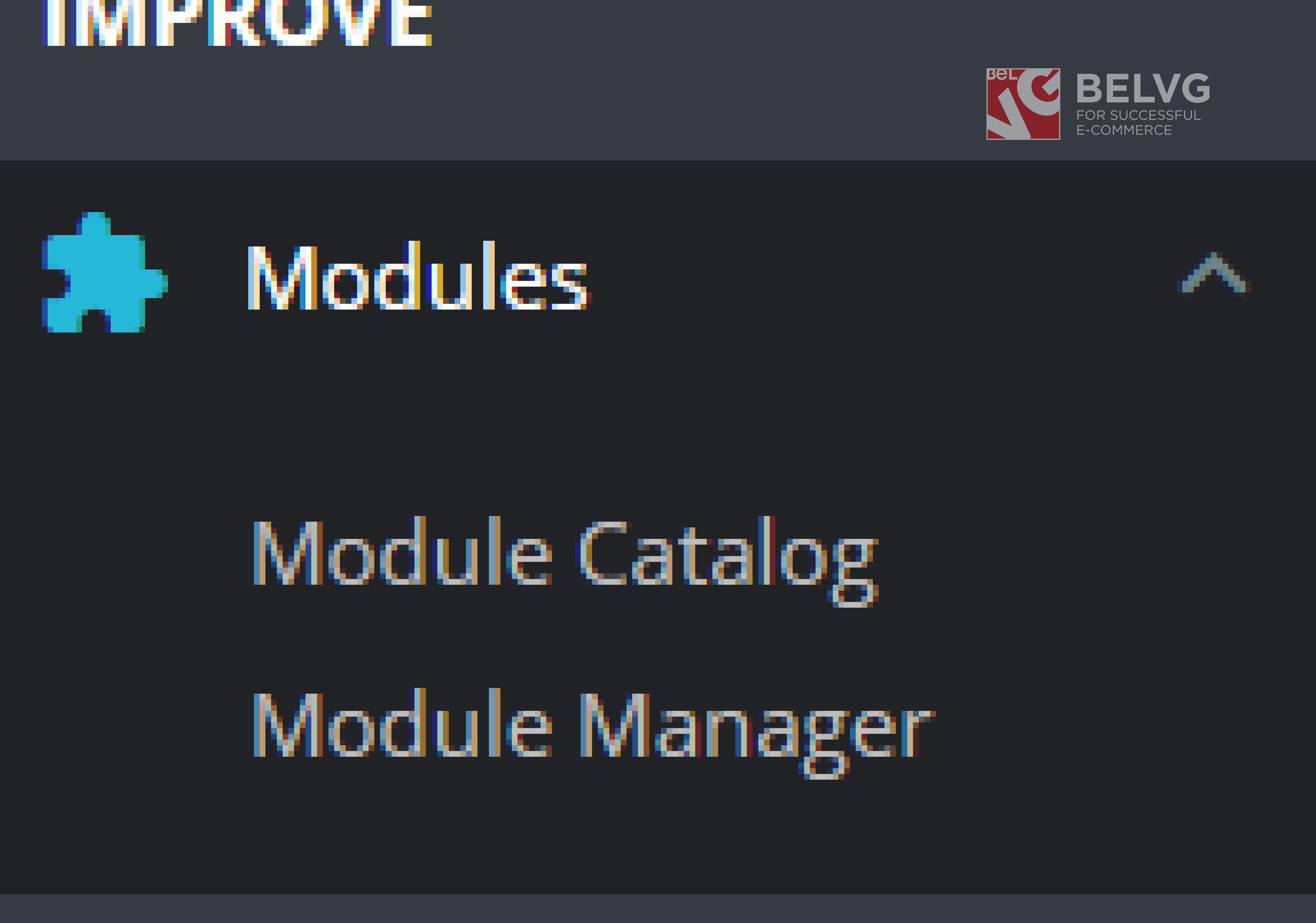module catalog