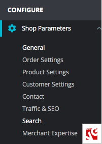 shop settings prestashop