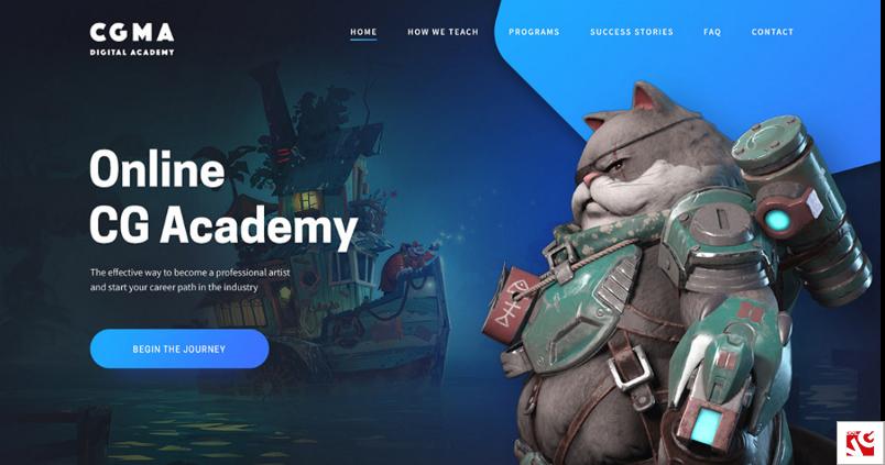 online cg academy