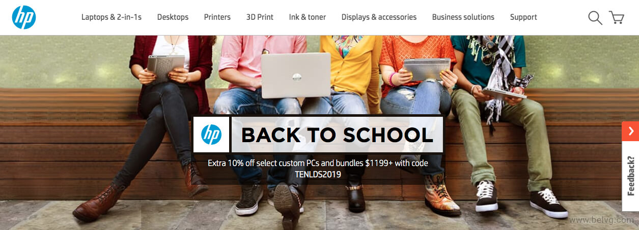 HP Back-to-School BelVG