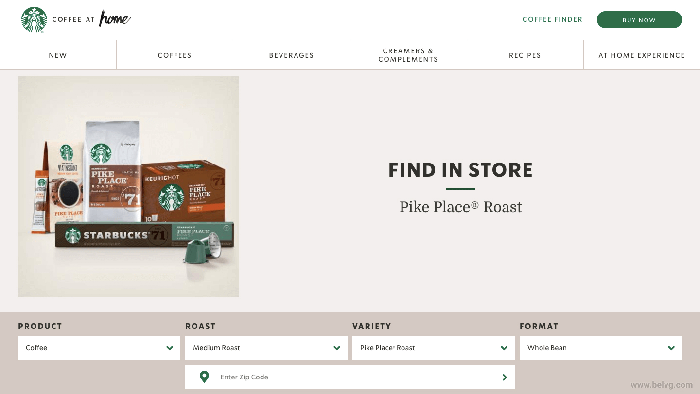 Starbucks Ecommerce vs Brick and Mortar