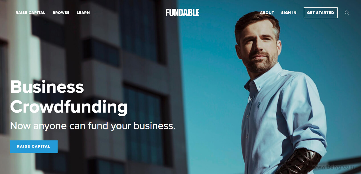 Fundable - fundraising website