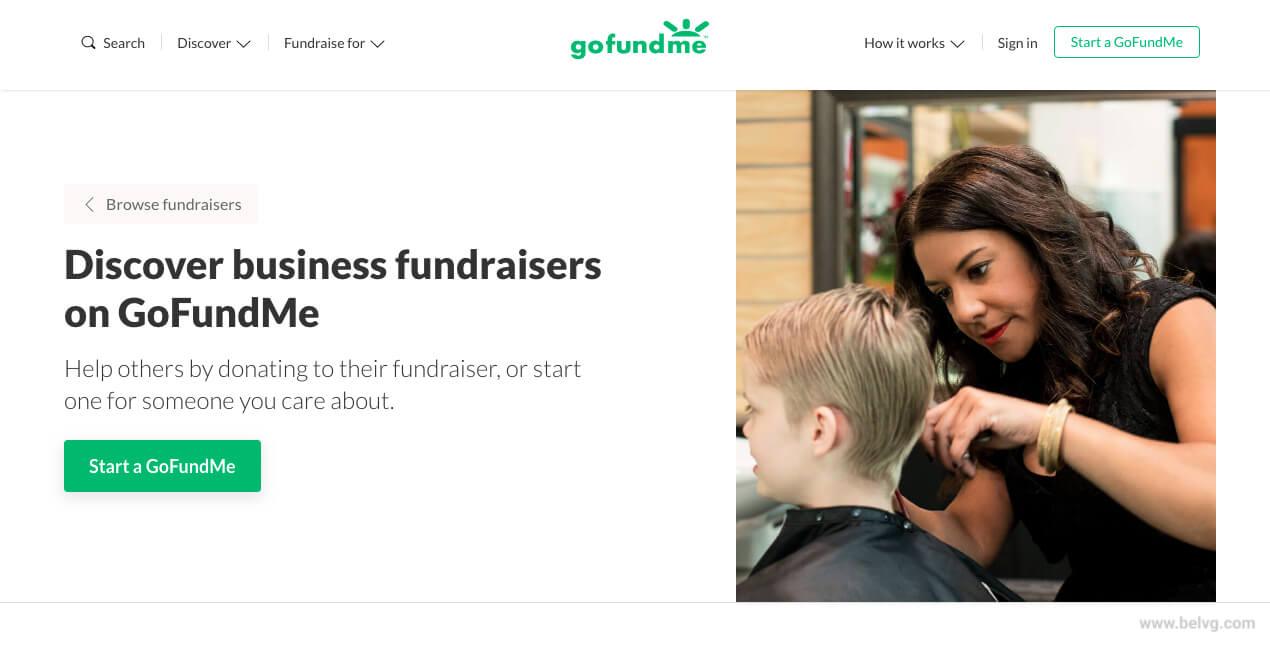 GoFundMe - fundraising website