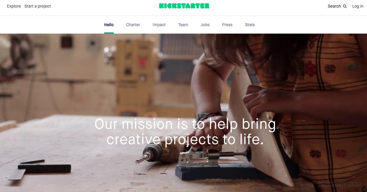 Kickstarter - fundraising website