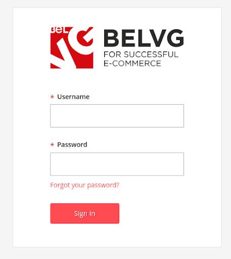 BelVG magento admin theme