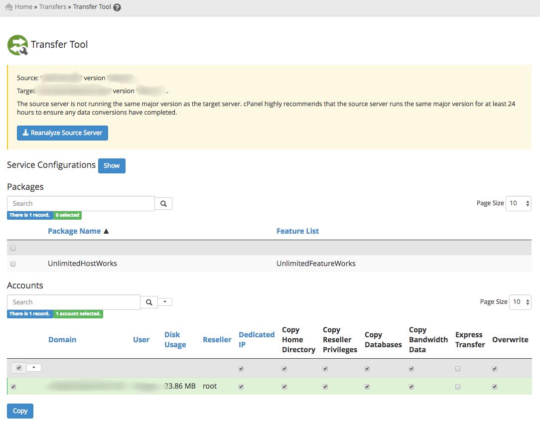 Transfer Tool for migrating PrestaShop to a new server