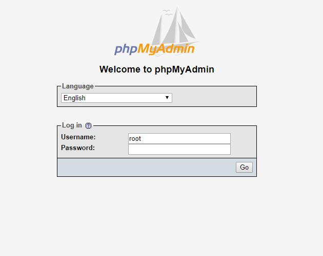 crear una base de datos a través de phpMyAdmin