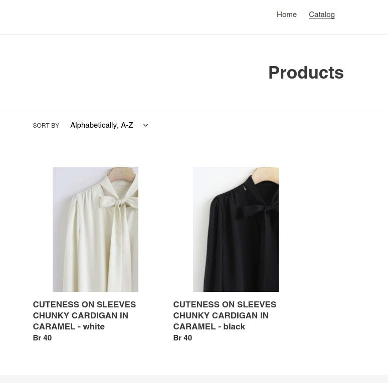 shopify product options sorted by color