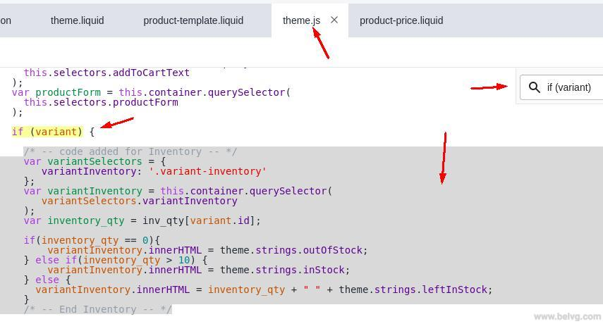 shopify-product-inventory